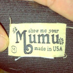 Show me your Mumu Pants